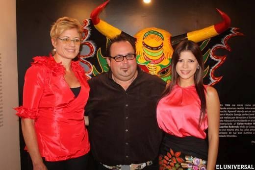 Los Diablos de Yare se exhiben en la festividad (Cortesía)